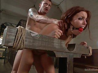 big-eyed MILF Britney Amber hot bdsm porn video