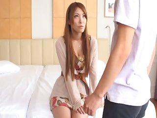 Homemade second-rate video of inviting Cocomi Sakura having passionate sex