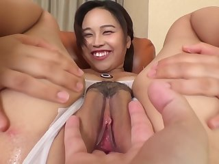 I Will Show Lacking My Masturbation For Nuts Swimsuit Lotion Of E-cup Busty Daughter Zubozobo