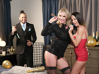 McKenzie Lee and Rachael Cavalli shows Naughty America a Happy New Realm