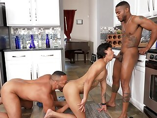 Black dudes ass fuck twink in home trine well-pleased XXX