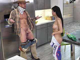 Tricked and treated step-sister