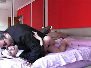 PUTA LOCURA Teen nun loves to gargle an old man his cum