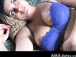 Kim's boobs slowly pour out of her bra