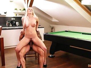 Big booty milf rides and sucks much the same as a porn goddess