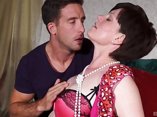 after pussy licking horny full-grown is ready for rub-down the best orgasm ever