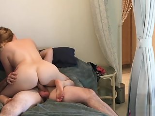 Nephew inlaw caught peeping fucks scalding aunt inlaw - Erin Electra