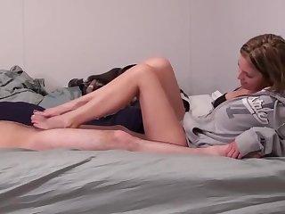 Kara Slick Kneading - Footjob