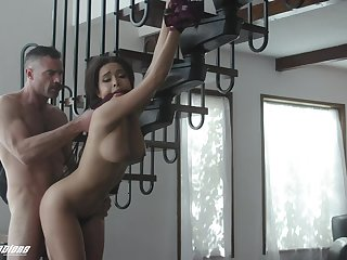 Action With Exotic Breasty Belle