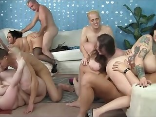 Sex party with BBW horny bitches