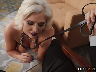 Spectacular mature Karissa Shannon gets fucked in the matter of hardcore style