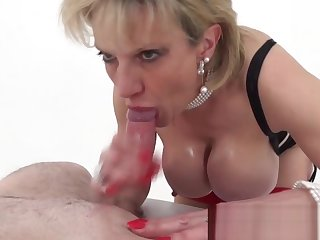 Son Sonia meets chirr follower added to tit fucks him until he cums