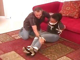 Dusky Babysitter Enslavement