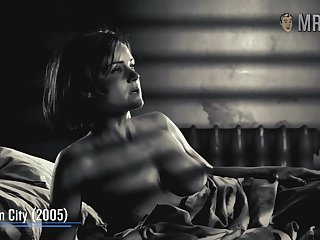 Quite nice looking Carla Gugino and her appetizing juicy booty to enjoy