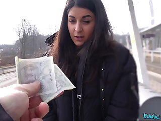 Money lovemaking leads European teen to insane POV