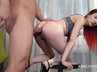 Newbie Petite Teen is Guard against Rough Anal Pounding